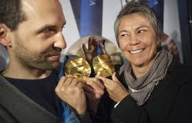 arbel and hunt with their winning olympic medal design architects omer arbel office photos