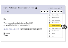 Email Scams Now You Can Quickly Report Phishing Scams To Protonmail Protonmail