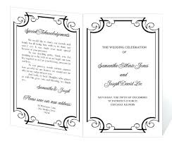 Church Program Template Wedding Church Program Templates Free Flybymedia Schedule Template