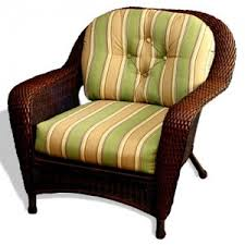 Fantastic Wicker Chair Cushions Wicker Dining Chair Replacement