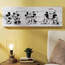 peter pan shadow wall decal spectacular mickey minnie canvas art print