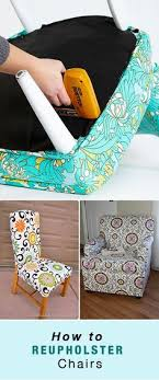 how to reupholster a chair recover dining chairsrecover