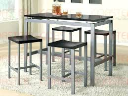 kitchen bar table sets and with regard to height dining tables inspirations 17