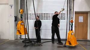 automatic chain hoist vs manual chain hoist manual chain hoist