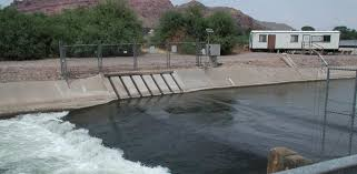 Salt River Project Organizational Chart Electrical Fish Barriers Gila River Basin Native Fishes