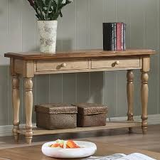 Winners ly Quails Run Sofa Table with 2 Drawers Sheely s