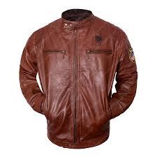 nicholas hoult brown leather motorcycle jacket