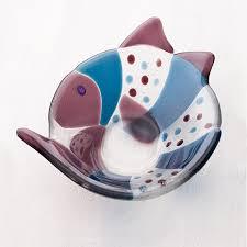 fused glass fish bowl fused glass bowl granary glass fused glass kiln