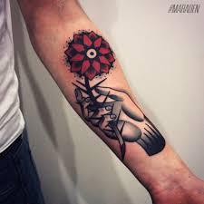 200 лучших идей тату на руке для девушек и мужчин на фото