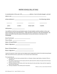 Dmv Ca Bill Of Sale Free Colorado Motor Vehicle Bill Of Sale Form Pdf Eforms