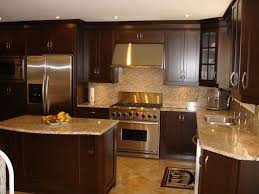 Kitchens With Dark Cabinets And Light Countertops Looks Like Our