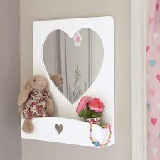 Kids Bedroom Mirrors Sweetheart Wall Mirror Dressing Tables Mirrors Jewellery