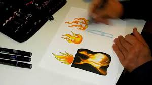 Realistic Fire Drawing How To Paint Fire 8 Steps (With Pictures ...