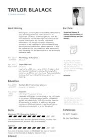 Resume Examples For Pharmacy Technician New Pharmacy Technician Resume Samples VisualCV Resume Samples Database