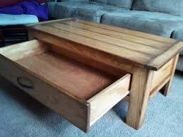 Coffee Table With Drawers Ana White Coffee Table With A Massive Drawer Diy Projects