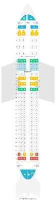 Seat Map Airbus A320 32k V1 Delta Air Lines Find The Best