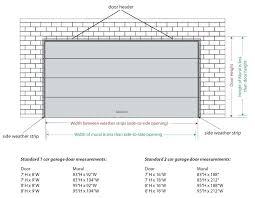 size of garage door collection in industrial garage door dimensions with garage door sizes full image for two car garage door size 16 garage door header
