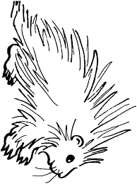 Small Picture Porcupine coloring page Animals Town Free Porcupine color sheet