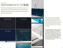 color trends colortrends blue navy blue blue counter top blue corian