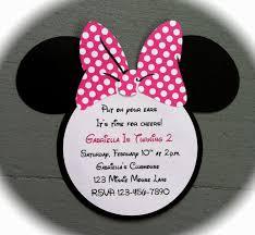 ideas images on diy minnie mouse 1st birthday invitations