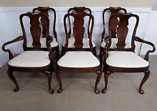 queen anne dining room chairs. hickory chair company mahogany queen anne dining chairs set of 6 queen anne dining room chairs 0