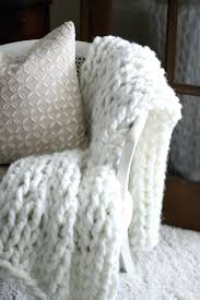 Arm Knit Blanket Pattern Simple Huge Knit Blanket Diy Chunky Arm Knit Throw Love Of Home Huge Knit