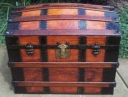 antique steamer trunk 317 antique steamer trunk 317