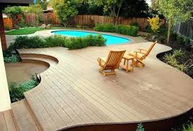 deck kits above ground pool deck kits new small backyard above ground swimming pool with deck