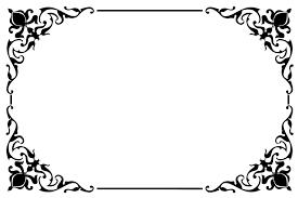 frame. Decorative Ornamental Frame Border 2