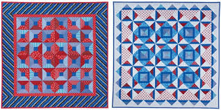How To Get That Modern Looking Quilt - Folk Art Stitchery Quilts & Red-white-and-blue-quilts-from-Quilts-on- Adamdwight.com