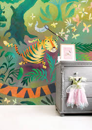 Wall Mural For Kids Hunting Tiger 2922 X 280 Cm