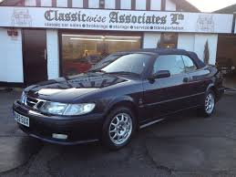 2000 SAAB 9-3 2.0 TURBO CONVERTIBLE 5 SPEED - Classic Car Sales