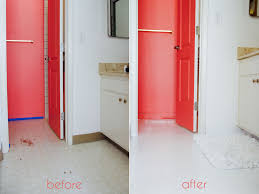 tile idea painting vinyl floors before and after floor tiles faux on painting old vinyl