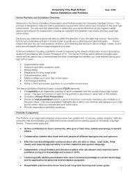 Research Portfolio Template High School Student Portfolio Template Turkeytravel Co