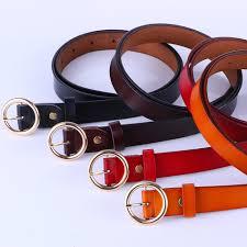 <b>RAINIE SEAN</b> Pin Buckle Belt Women Black Vintage <b>Genuine</b> ...