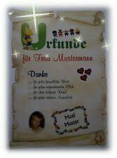 Urkunde Geschenk Abschied Kindergarten Kita Erzieherin Danke