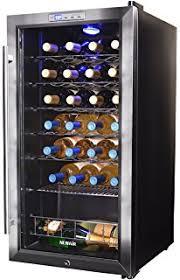 newair 28 bottle wine cooler. Interesting Newair NewAir Wine Cooler And Refrigerator 27 Bottle Freestanding Chiller  Fridge Stainless Steel With Throughout Newair 28 8