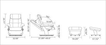 Amazon Com Coja By Sofa4life C Bro Leclair Leather Recliner