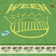 Artpark Amphitheater Seating Chart Ween At Artpark Amphitheatre On 28 Jul 2018 Ticket Presale