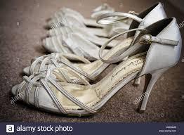 White Designer Shoes Heels White Designer Heels Stock Photos White Designer Heels