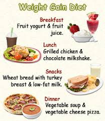 15 Prototypal Diet Chart For Gain Weight