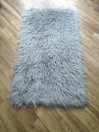 grey faux fur rug sheepskin kmart grey faux fur rug