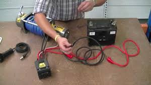 how to wire a v winch sherpa x the colt