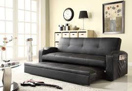 futon pull out bed. Delighful Out Homelegance Novak Elegant Lounger Sofa With Pull Out Trundle On Futon Bed