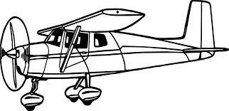 Small Picture Illustration Of A Cessna Airplane Coloring Page Wecoloringpage