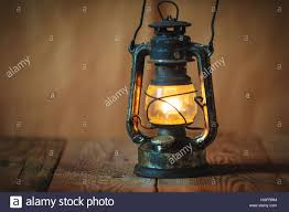 Oil Lamp Light Vintage Kerosene Oil Lantern Lamp Burning With A Soft Glow