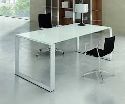 office table with glass top. Stylish White Glass Office Desk Amazing Top Furniture Cover Table With