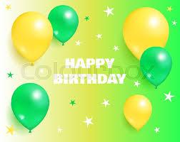 Happy Birthday Background Images Happy Birthday Background Glossy Stock Vector Colourbox