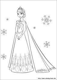 Small Picture frozen coloring page elsa 2 Kinder basteln Pinterest Disney