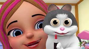 Nhạc Thiếu Nhi Vui Nhộn Cho Bé Chú Mèo Con Lông Trắng Tinh Mắt Tròn Xoe  Trông Rất Xinh Meo Meo - YouTube